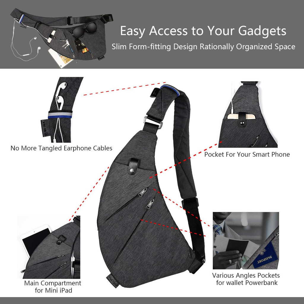 Ultra-thin Magic Gun Bag