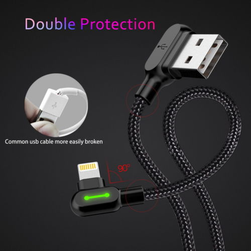 Unbreakable Braided Charging Cable (2-Pack)