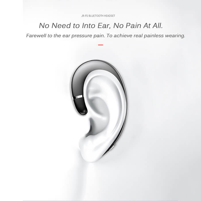 Waterproof Earphone Without Earplugs