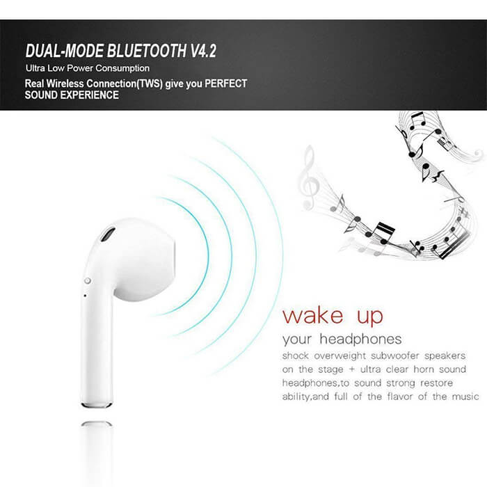 Wireless Earbuds Bluetooth 4.2 Earphones With Charging Case