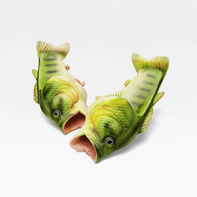 Freaky Fish Slippers