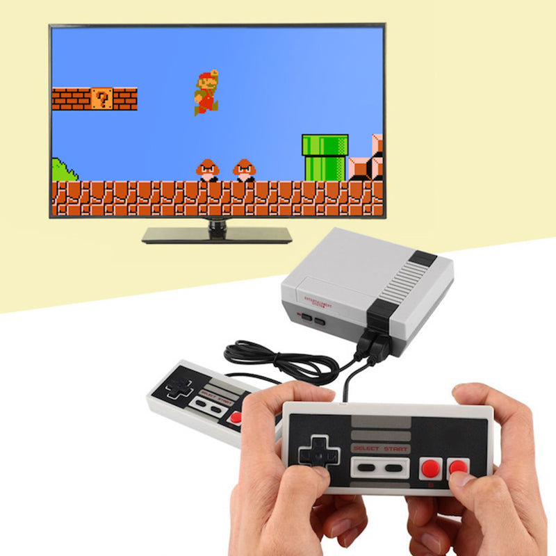 Classic NES Video Game Console with Built-in 600+ Games (HD version)