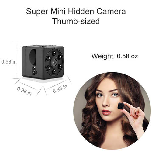 Super Mini Hidden Camera