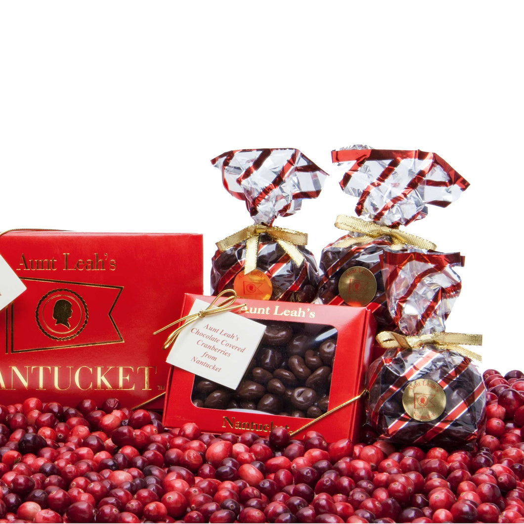Two Pound Box of Chocolate Covered Cranberries
