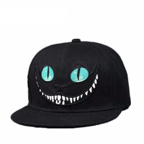 Cheshire Cat Cartoon Baseball Caps