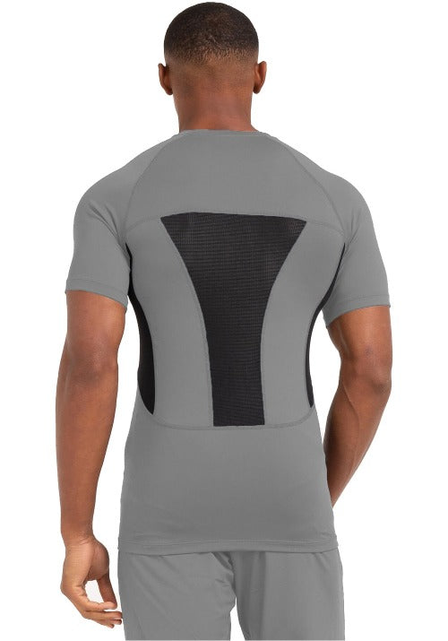 MENS GREY GYM WEAR