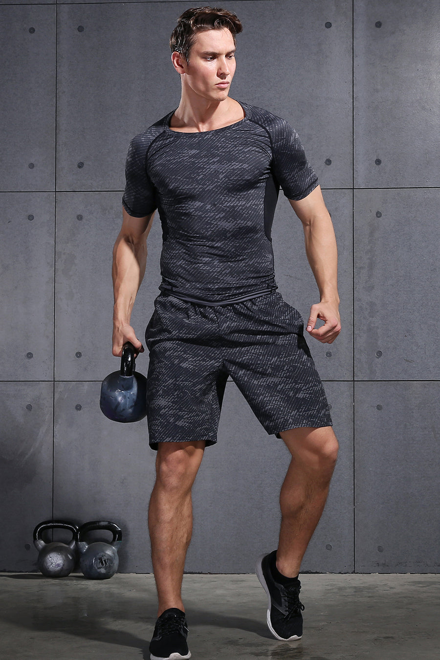 Running Sets Men's Workout Clothes - GINGTTO