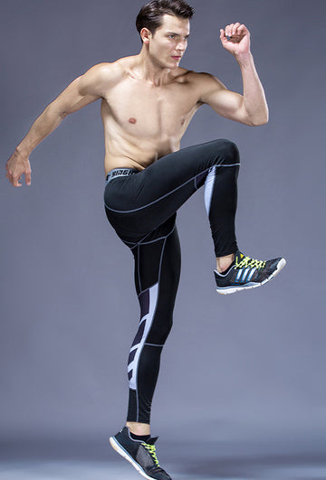Breathable men's fitness pants