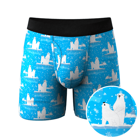 Polar Bear Ball Hammock Pouch Underwear