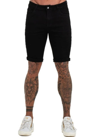 Black Short Jeans - GINGTTO