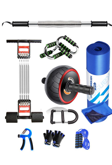 Home exercise fitness equipment 10 piece set