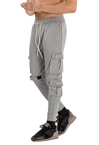 MENS GREY BREATHABLE JOGGER - GINGTTO