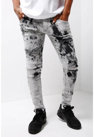 MENS STYLE WHITE SKINNY JEANS - Skinny Jeans
