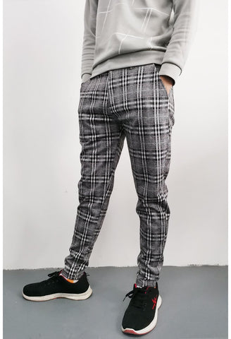 Skinny Chinos Tapered Pants - GINGTTO