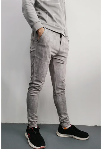 Skinny Chinos Tapered Pants Men - GINGTTO
