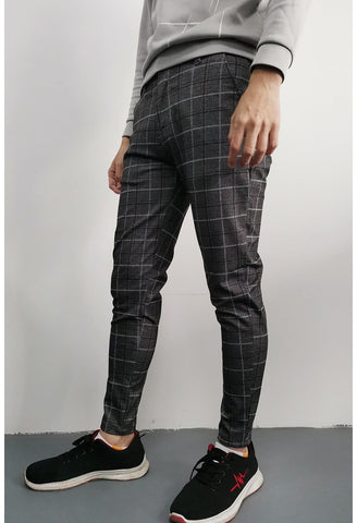 Skinny Twill Pants for Men - GINGTTO