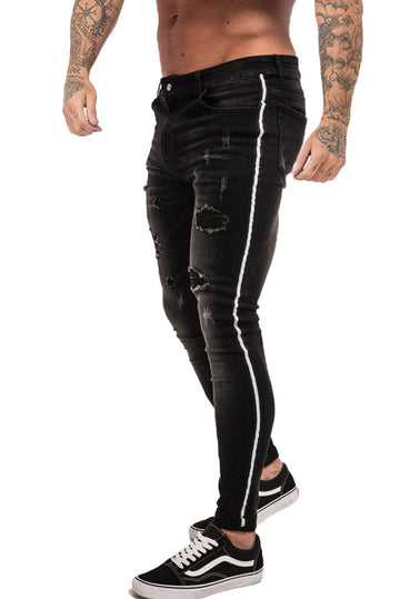 Black Skinny Jeans Ripped