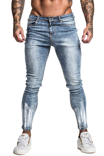 MENS BLUE JEANS SKINNY STRETCH