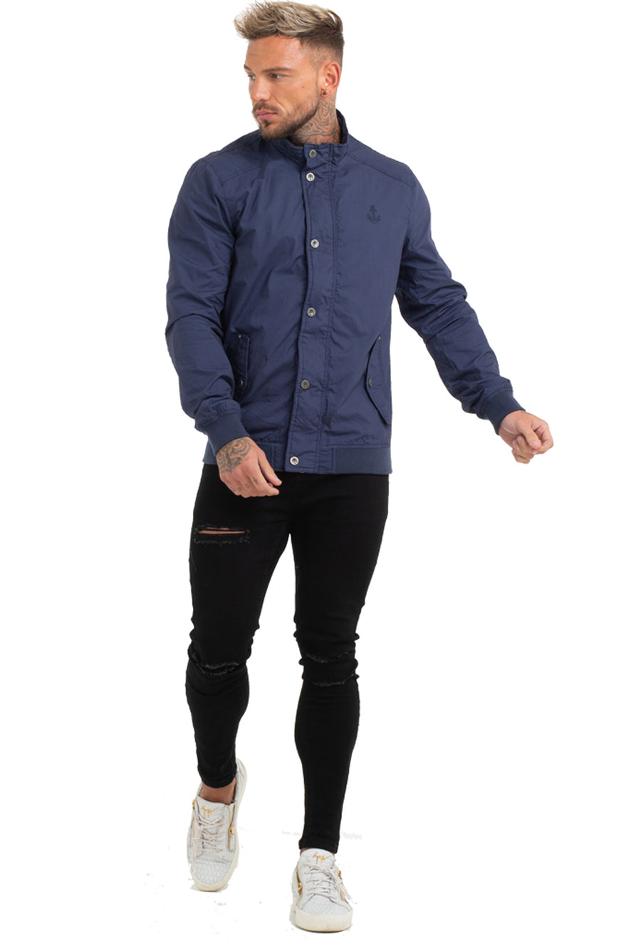 Men's Dark Blue Jacket