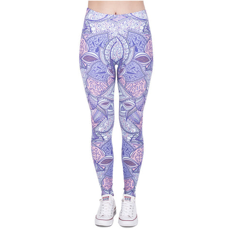 Black Yoga Pants are BORING! Show your spirit with our soft Aztec Jungle Yoga Pants