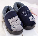 Cute Cat Anti-Slip Outdoor Bedroom Slippers