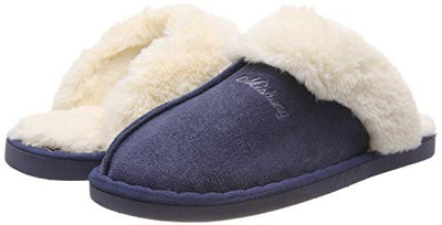 NiNE CiF Furry Mule Slippers