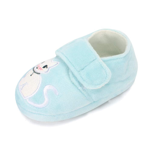 Toddler Girls Plush Bedroom Slippers
