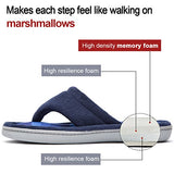 Ladies' Microfiber Textured Memory Foam Bedroom Slippers