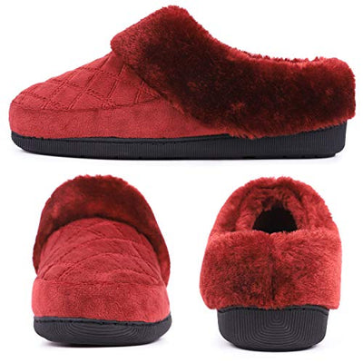 LongBay Ladies' Memory Foam Slippers