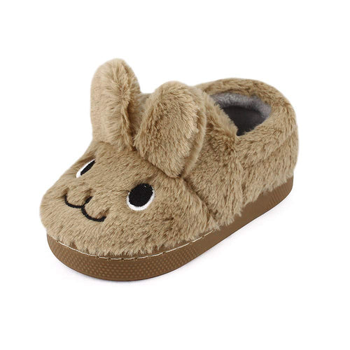 Boys Cartoon Rabbit Bedroom Slippers