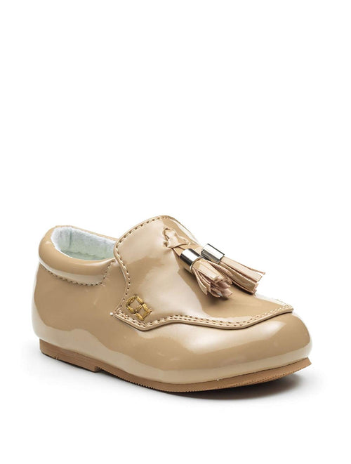 Boys raised stitching and tassel Loafers