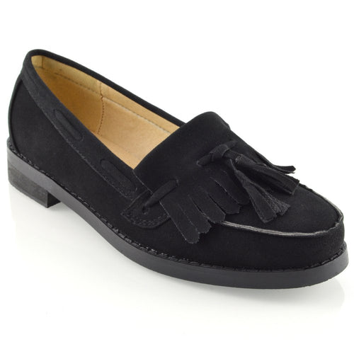 ESSEX GLAM Womens Flat Loafers