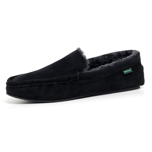Dunlop GEORGE Bedroom Slippers with Rubber Sole