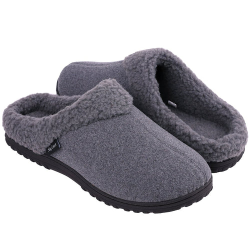 Everfoams Plush Fleece Bedroom Slippers