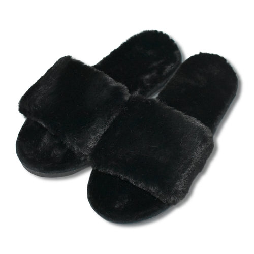 COFACE Fashion Plush Bedroom Slippers