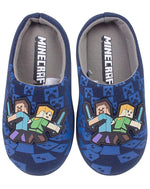 Minecraft Boy's Bedroom Slippers