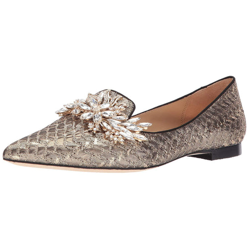 Badgley Mischka Women's Mandy Loafer Flat