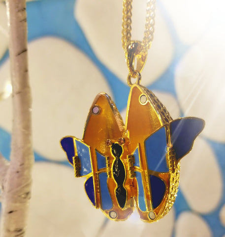 FlutterSpark jewelry design by 10-year-old girl