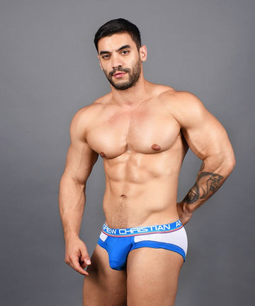 Show-It Sports and Workout Brief w/Mesh