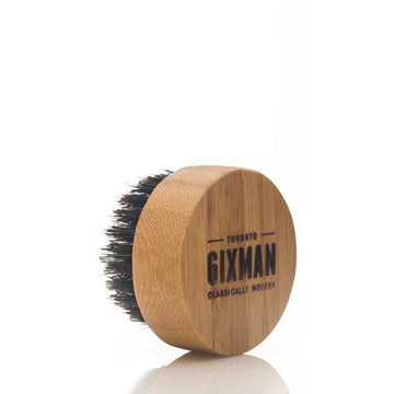 Beard Brush Oil Applicator, Bamboo & Boar