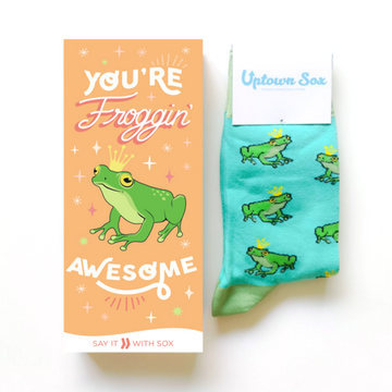 "Socks, Frog Prince Thanks ""Say It With Sox"" Set"