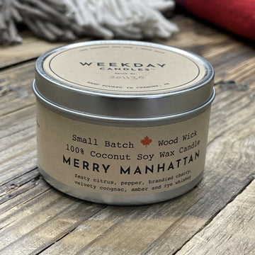 Candle, Merry Manhattan