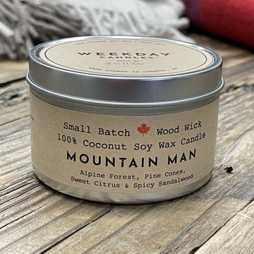 Candle, Mountain Man