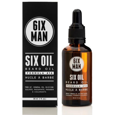 Beard Oil SIX Oil, Formula 416