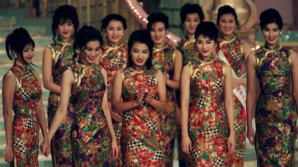Finalists in the 1994 Miss Hong Kong pageant