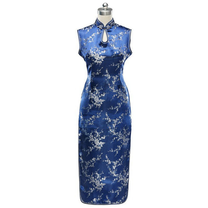 Traditional Chinese Dress Blue