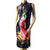 Ancient China Lady Portrait Pattern Cheongsam Chinese Dress