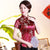Short Sleeve Dragon & Phoenix Pattern Brocade Chinese Shirt