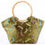 Dragonflies Pattern Brocade Tote Bag