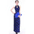 Strapless Cheongsam Style Lace Prom Dress with Key Hole Neck